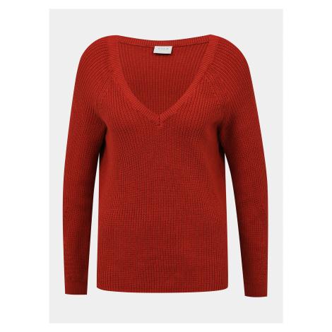 Tehlový sveter VILA