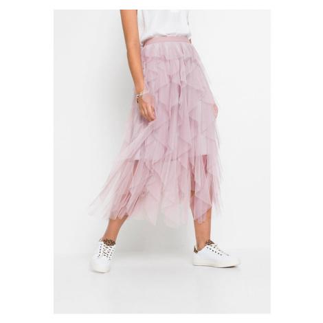Tylová sukňa bonprix