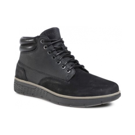 Šnurovacia obuv Sergio Bardi MB-LOGO-07EO Prírodná koža(useň) - Nubuk