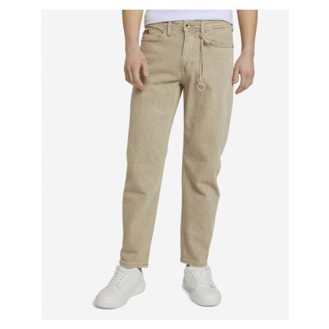 Tom Tailor Denim Jeans Béžová