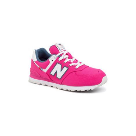 New Balance Sneakersy GC574SOE Ružová