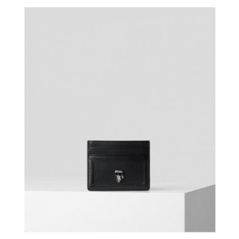 Púzdro Na Platobné Karty Karl Lagerfeld Ikonik 3D Pin Card Holder