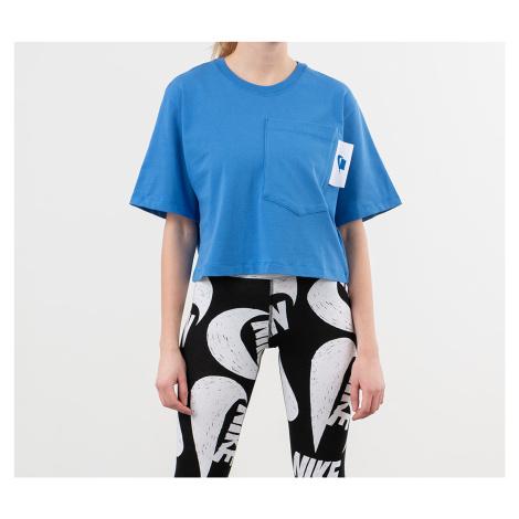 Nike Sportswear Crop Top Pacific Blue/ White/ Soar