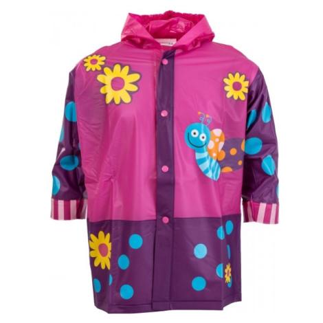 Pidilidi MOTÝĽ ružová - Detská pláštenka