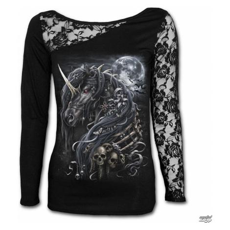 tričko SPIRAL DARK UNICORN Čierna