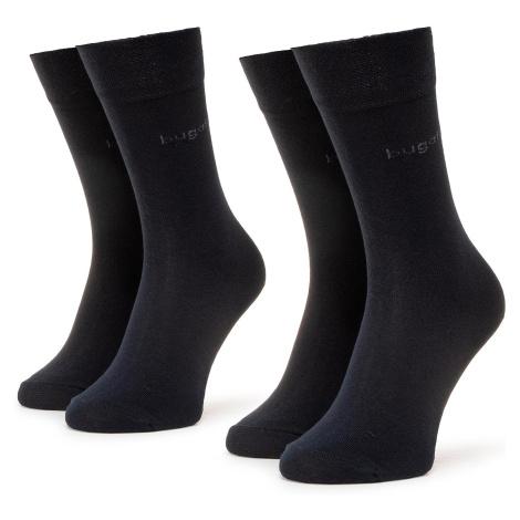 Súprava 2 párov vysokých ponožiek pánskych BUGATTI