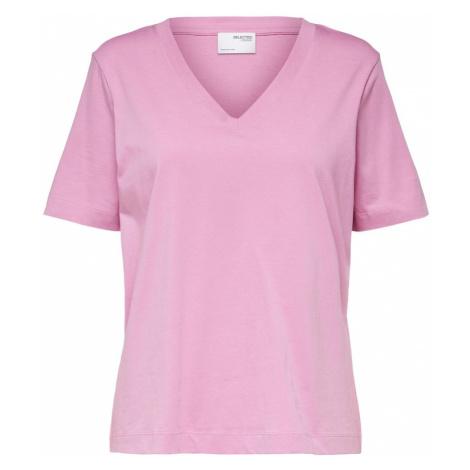 Selected Femme Curve Tričko 'Andard'  svetloružová