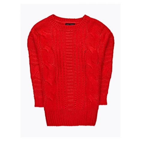 GATE Široký sveter so zapletaným vzorom