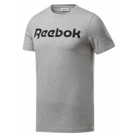 Reebok GRAPHIC SERIES REEBOK LINEAR READ TEE - Pánske tričko