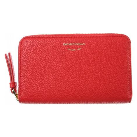 EMPORIO ARMANI Red peňaženka