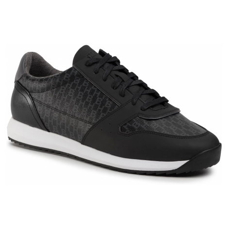 Sneakersy BOSS - Sonic Runn 50428491 10223271 01 Black 001 Hugo Boss