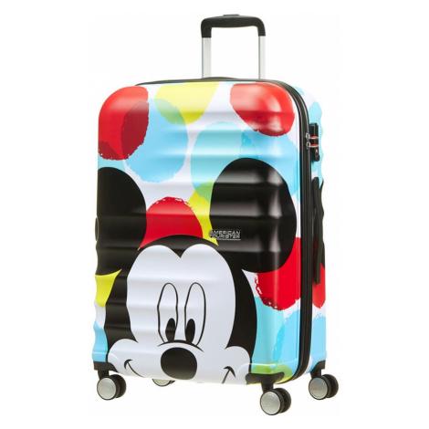 American Tourister Cestovný kufor Wavebreaker Disney Spinner 31C 64 l - Mickey Close-Up