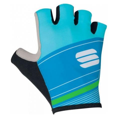 Sportful GRUPPETTO PRO GLOVE modrá - Pánske rukavice