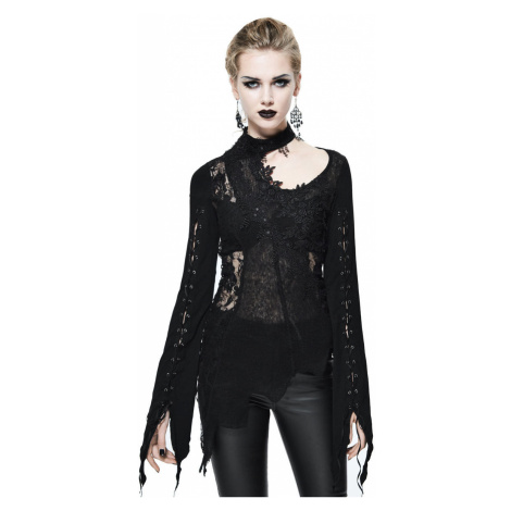 tričko dámske s dlhým rukávom DEVIL FASHION - SR004