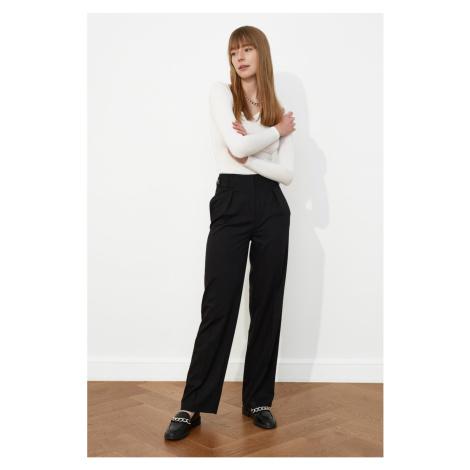 Trendyol Black High Waist Pants
