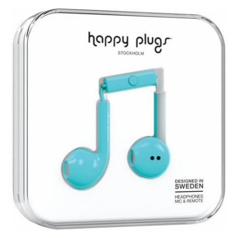 Slúchadlá Earbud Plus – tyrkysová Happy Plugs