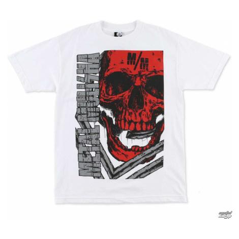 tričko street METAL MULISHA Raider biela