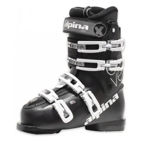 čierne lyžiarska obuv