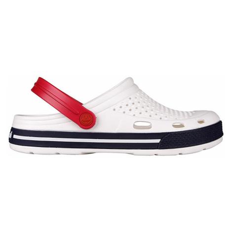COQUI Pánske sandále a clogsy LINDO White/Navy