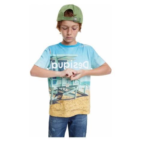 Desigual farebné chlapčenské tričko TS Angel