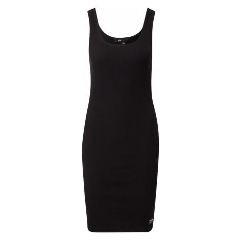 Dr. Denim Letné šaty 'Nadja'  čierna