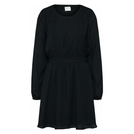 VILA Šaty  čierna