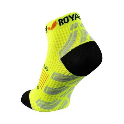 Ponožky ROYAL BAY® Neon Low-Cut Yellow 1099