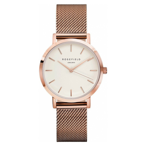 ROSEFIELD THE TRIBECA WHITE ROSE GOLD / 33MM TWR-T50