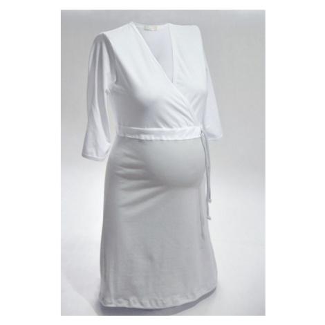 NIKA Košeľa nočná NIKA INTIMA 038 strieborno-biela