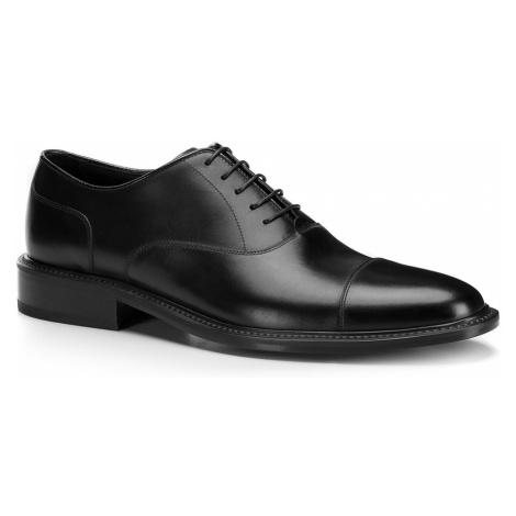 Čierne pánske topánky z pravej kože Wittchen