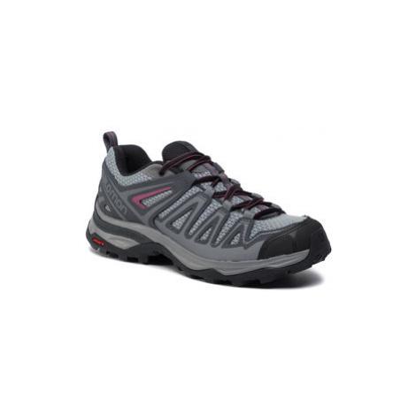 Salomon Trekingová obuv X Ultra 3 Prime W 407412 23 W0 Sivá