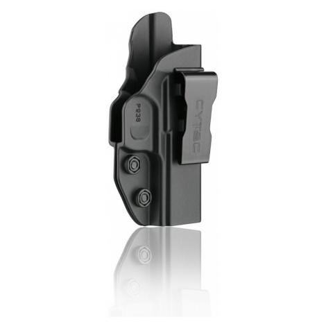 Pištoľové puzdro pre skryté nosenie IWB Gen2 Cytac® Sig Sauer P938 - čierne
