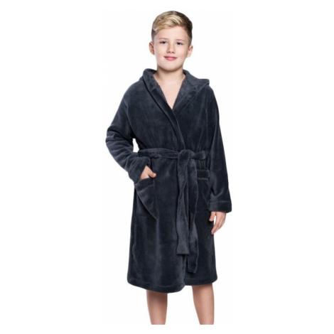 Chlapčenský župan Mimas šedý Italian Fashion