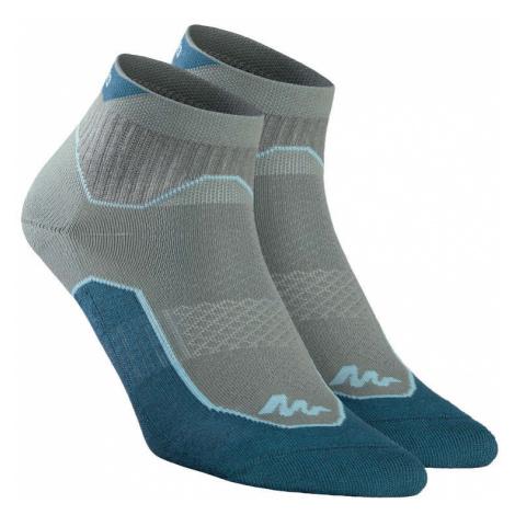 QUECHUA Ponožky Nh500 Mid 2 Páry