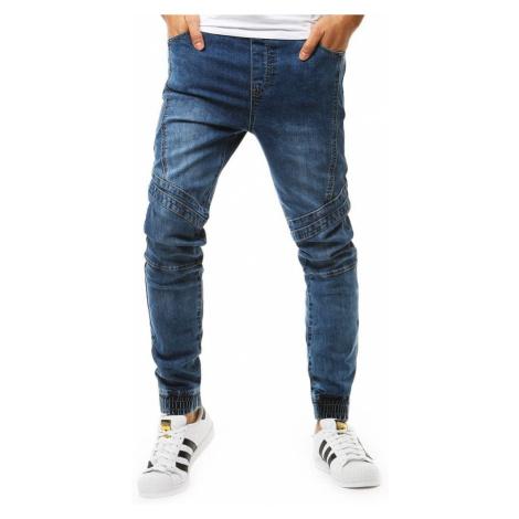Trendy modré joggery v módnom prevedení DStreet