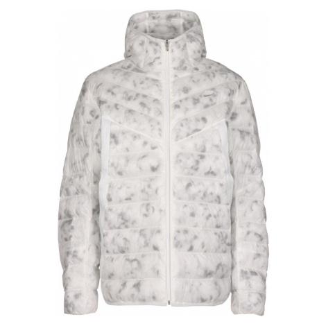 Nike Sportswear Zimná bunda  biela / svetlosivá