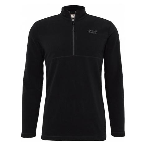 JACK WOLFSKIN Športový sveter 'Gecko'  čierna