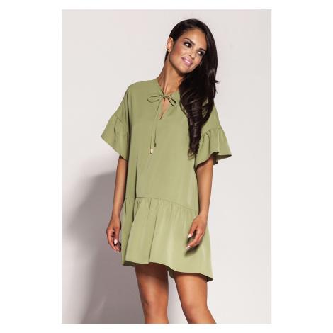 Zelené šaty Lila Dursi