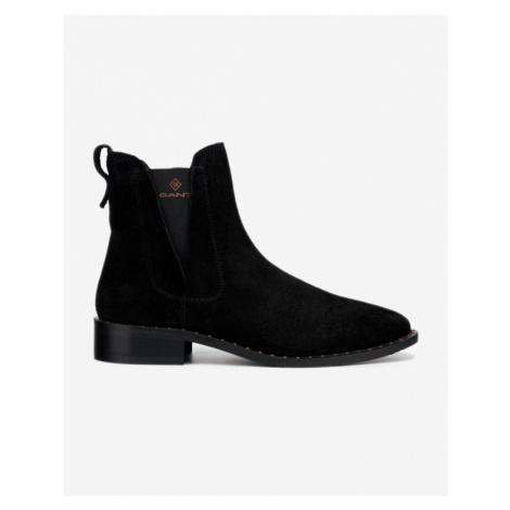 Gant Hampton Členkové topánky Čierna