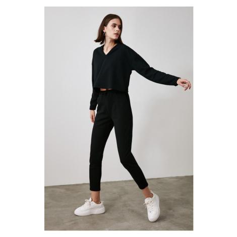 Trendyol Black Basic Jogger Knitted Tracksuit bottom