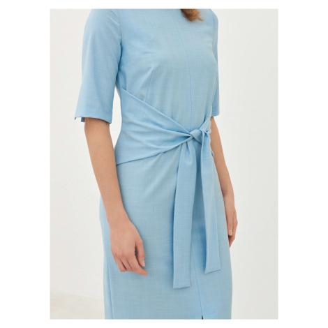 Dámske vlnené puzdrové šaty Pietro Filipi