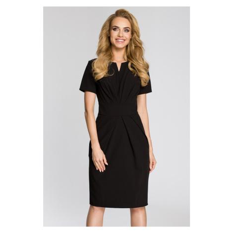 Čierne šaty MOE 234
