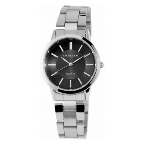 Dámske hodinky Excellanc Appoline strieborné Black