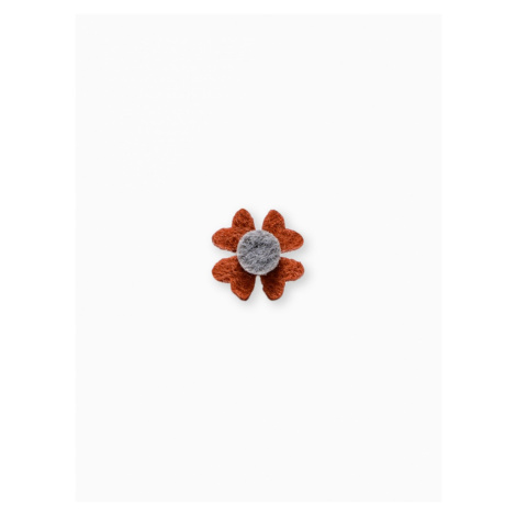 Ombre Clothing Men's lapel pin flower A241 Red