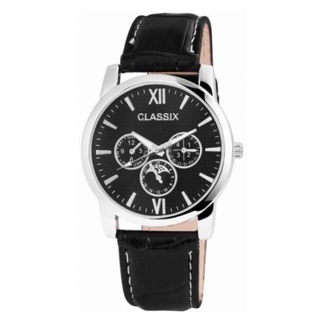 Pánske hodinky Classix čierne Black