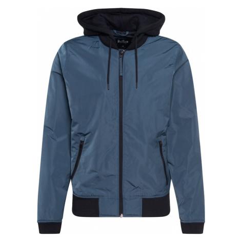 HOLLISTER Prechodná bunda  námornícka modrá / modrosivá