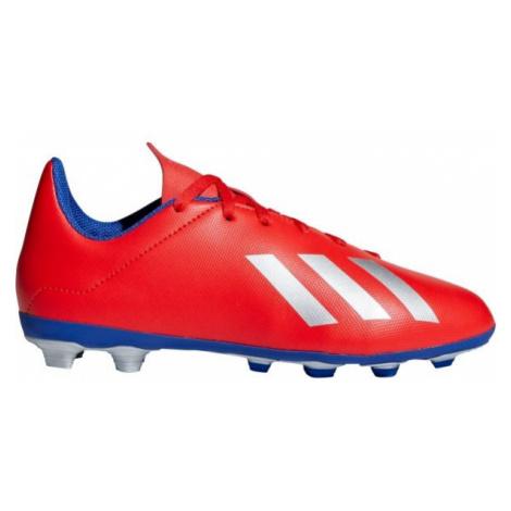 adidas X 18.4 FXG J červená - Detské kopačky