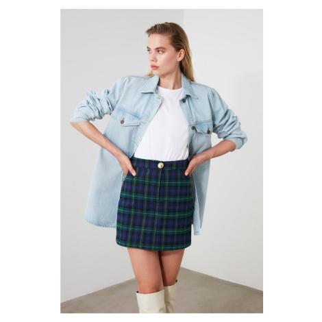 Trendyol MultiColor Button Detailed Skirt