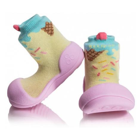 ATTIPAS Dievčenské topánočky Ice Cream, veľ. - ružová
