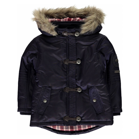 SoulCal Toggle Parka Jacket Infant Girls Navy Soulcal & Co